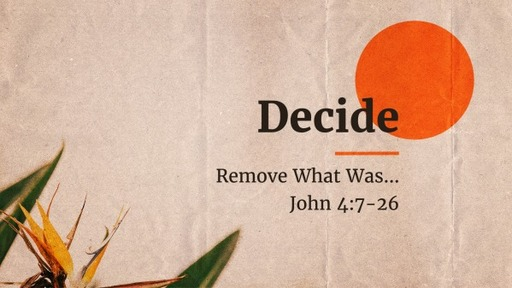 Remove What Was...