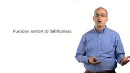 Exhortation to Faithfulness (Heb 3:7–19)