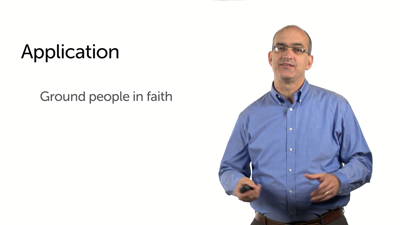 Application of Hebrews 2:1–4