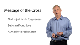 The Role of the Cross