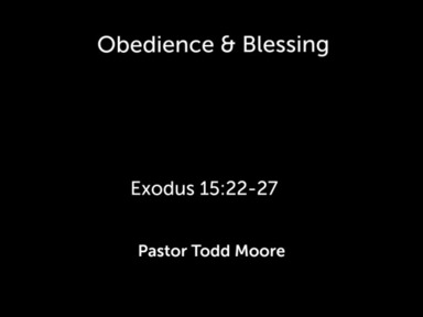 """Sunday 2nd Service """" Obedience & Blessing"""""""