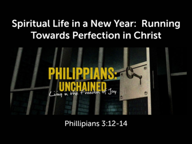 Spiritual Life in a New Year:  Running Towards Perfection in Christ
