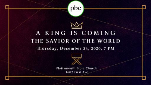 Thursday, December 24, 2020 - Christmas Eve Gathering