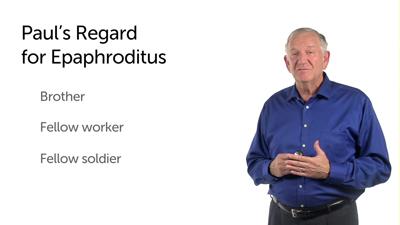 Honoring Epaphroditus
