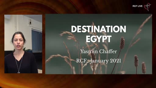 RCF 240121 - Teaching Service - Yasmin Chaffer - Destination Egypt