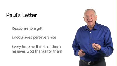 Paul's Prayer of Thanksgiving