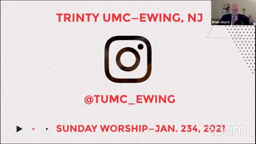 Sunday Worship—Jan. 24, 2021