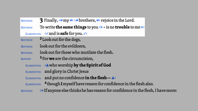 Homiletical Summary (Phil 3:1–11)