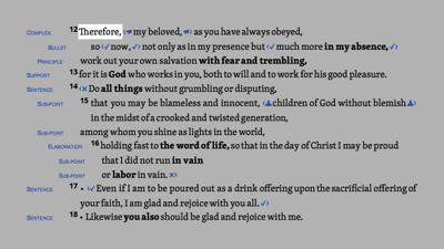 Philippians 2:12–18 HDNT