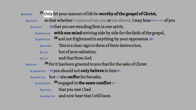 Philippians 1:27–30 HDNT