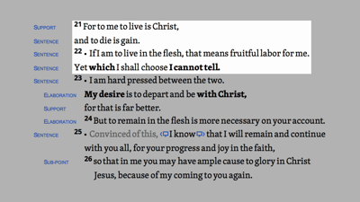 Philippians 1:21–26 HDNT