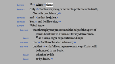Philippians 1:18–20 HDNT