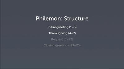 Introducing Philemon