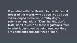 False Rules (Col 2:20–23)