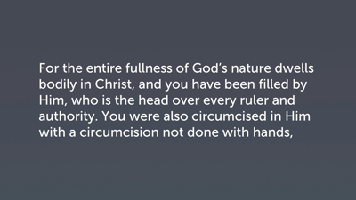 Participation in Christ (Col 2:9–12)