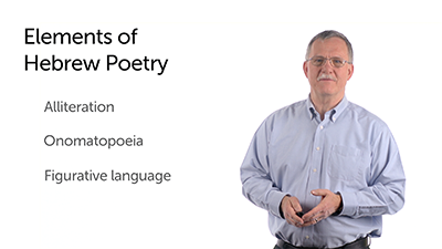 Elements of Hebrew Poetry