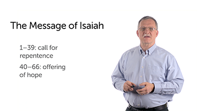 Isaiah: The Message of the Book