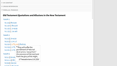 Examining New Testament Allusions to Isaiah