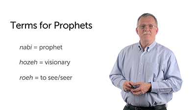 Titles for Prophets