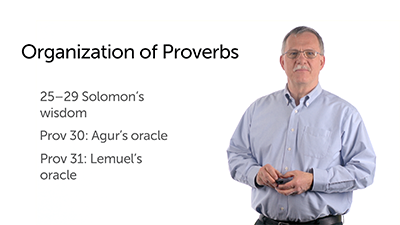 The Content and Structure of Proverbs