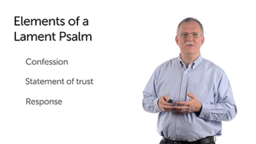Lament and Repentance in the Psalms