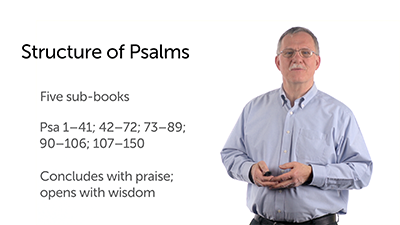 The Title and Structure of Psalms