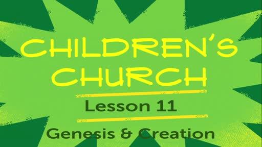 Children Church - Lesson 11