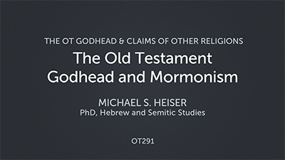 The Old Testament Godhead and Mormonism