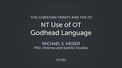 New Testament Use of Old Testament Godhead Language