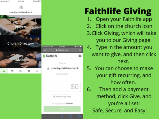 Faithlife Giving
