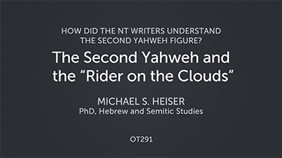 """The Second Yahweh and the """"Rider on the Clouds"""""""