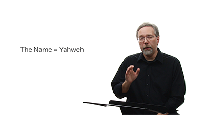 """The Second Yahweh and """"The Name"""""""