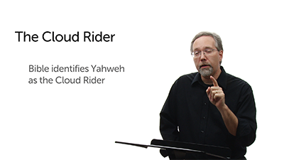 """Yahweh and the """"Cloud Rider"""""""