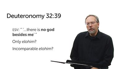No God besides Yahweh