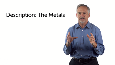 The Metals: Gradations of Holiness