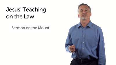 Jesus' Teaching on the Law