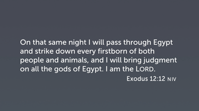 The Plagues and the Gods of Egypt