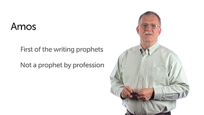 The First Writing Prophet