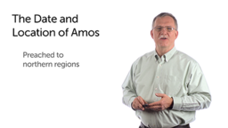 The Date and Location for Amos