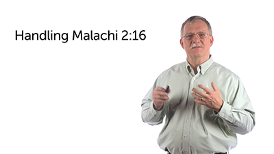 Divorce and Malachi