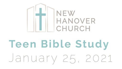 Teen Bible Study - I Peter 2