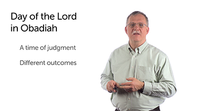 The Day of the Lord in Obadiah