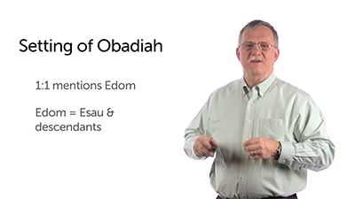 The Setting of Obadiah