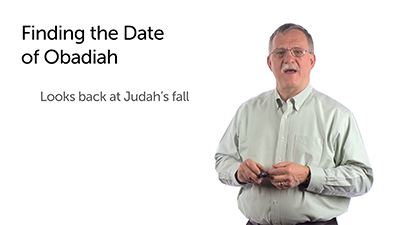 The Date of Obadiah