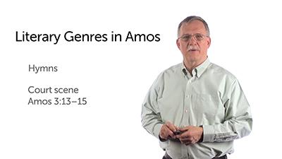 Genres in Amos' Prophecies
