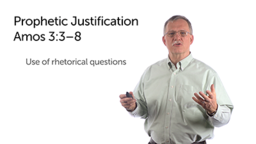 The Prophetic Justification