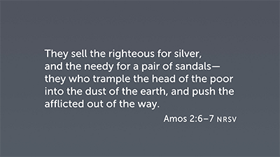 The Situation and the Sin in Amos