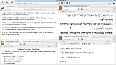 Studying a Text Critical Problem in Isaiah 8:11