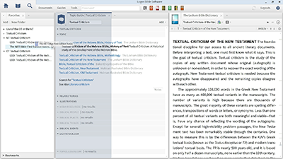Using Favorites to Collect Key Resources on Textual Criticism
