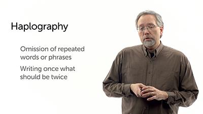 Unintentional Variants: Haplography